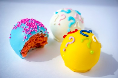 Welcome Baby Cake Balls