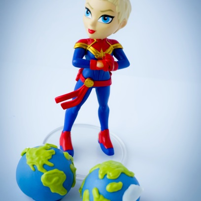 Earth Day Cake Balls