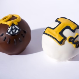U of I wedding cake balls