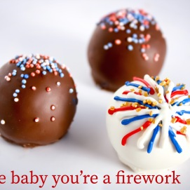 Firework Cake Balls