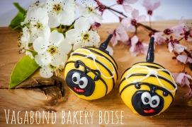SPRING BEE FLORAL CAKE BALLS